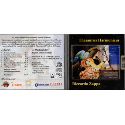 RICCARDO ZAPPA - THESAURUS HARMONICUS (CD)