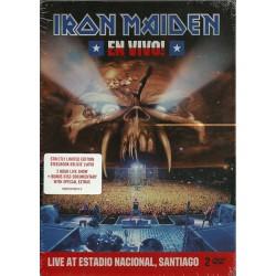 IRON MAIDEN - EN VIVO LIVE ESTADIO NACIONAL SANTIAGO (2-DVD)
