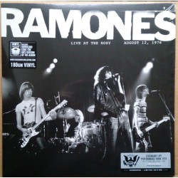 RAMONES - LIVE AT THE ROXY AUGUST 12th 1976