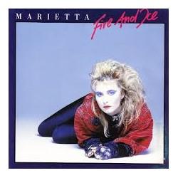 """MARIETTA - FIRE AND ICE  (7"""" vinyl)"""