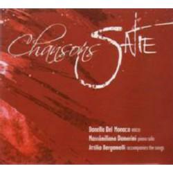 DONELLA DEL MONACO - CHANSONS SATIE (CD)