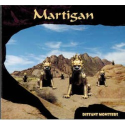 MARTIGAN - DISTANT MONSTERS (CD)