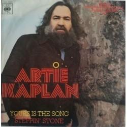 """ARTIE KAPLAN - YOURS IS THE SONG (VINYL 7"""")"""