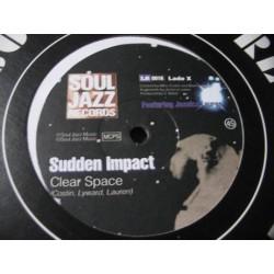 "SUDDEN IMPACT - CLEAR SPACE (VINYL 12"")"