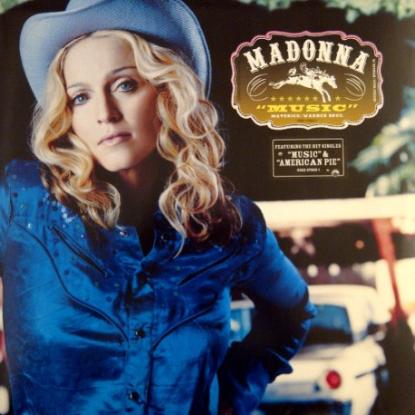 MADONNA - MUSIC (LP)
