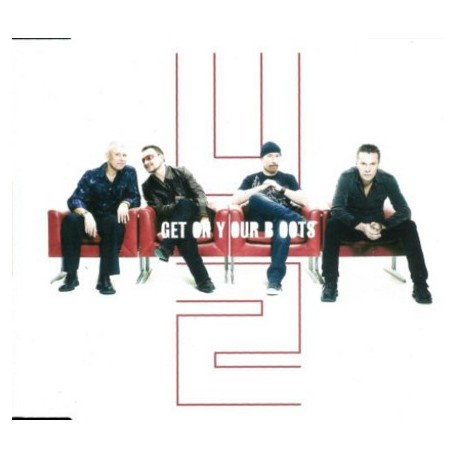 U2 -GET ON YOUR BOOTS  (CD single)