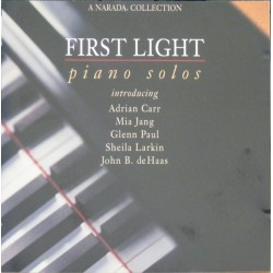 VARIOUS ARTISTS - FIRST LIGHT/PIANO SOLOS (CD)