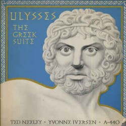 A440 (TED NEELY /YVONNE IVERSEN) - ULYSSES THE GREEK SUITE (2-LP)