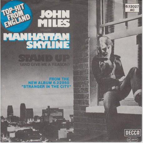 "JOHN MILES - MANHATTAN SKYLINE (7"" vinyl)"