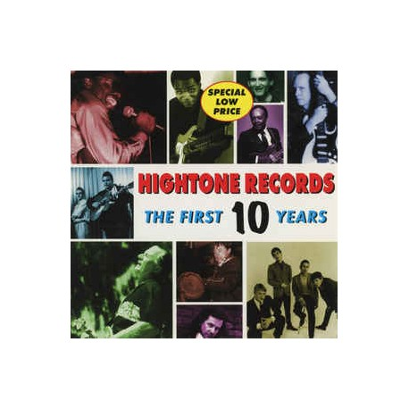 VARIOUS ARTISTS - HIGHTONE RECORDS THE FIRST 10 YEARS