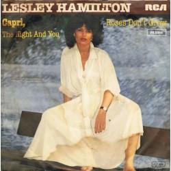 "LESLEY HAMILTON  - CAPRI, THE NIGHT AND YOU (7"")"
